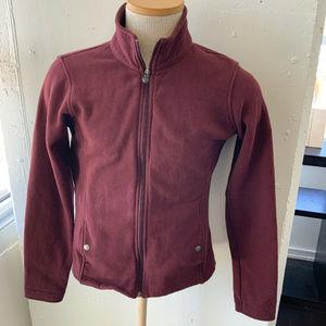 Columbia Burgundy Cotton Jacket Women's S